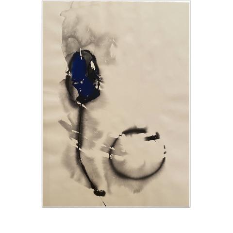 Sleepless Paint 015 - 56 x 76 cm - Ink on vélin d'Arches.